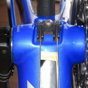 ロードバイクの塗装修理