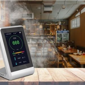 室内の二酸化炭素濃度を検知できる計測器