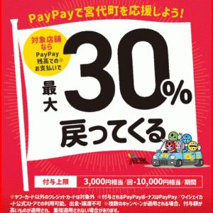 宮代町PayPay還元キャンペーン