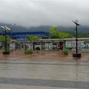 慶州市 新慶州駅バス停(市内バス)