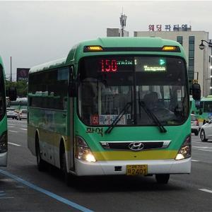 慶州の海沿いへ直行! 慶州市座席バス150番 市外BT・高速BT→慶州世界文化エキスポ公園