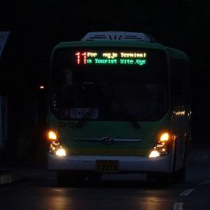 慶州市内の周遊に最適! 慶州市座席バス11番 慶州世界文化エキスポ公園→市外BT・高速BT