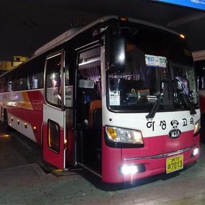 早くて便利な慶州~東大邱間のバス! 市外バス 慶州市外バスターミナル→東大邱ターミナル