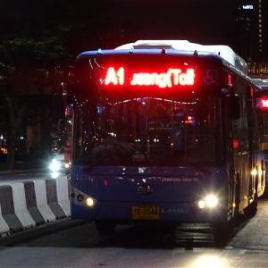 ドンムアン空港へは路線バスが便利! バンコク市内バスA1番 BTSモーチット駅→ドンムアン空港