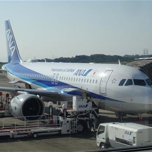 お得に国際線機材を満喫!就航58周年イベントも!全日空(ANA)NH654便 岡山→東京(羽田)