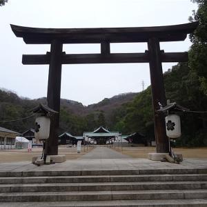 年末年始特別企画「やってみた!ジャンル乗り継ぎの旅」 岡山縣護国神社に初詣に行ってみた