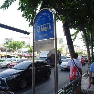 メークロン線乗車にも役立つバンコク市内バス! BMTA ウォンウェンヤイ鉄道駅バス停