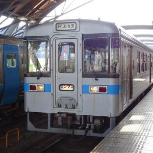 特急列車の駆け抜ける四国山地を普通列車でのんびり移動! JR土讃線 普通列車(高知→阿波池田)