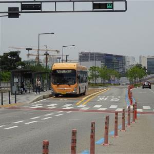 高速型バスも走る!車内収受型の本格派BRT! 世宗市BRT