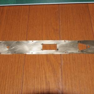 キハ25 その2:床板の切り出し