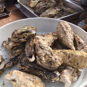 牡蠣の食べ放題~