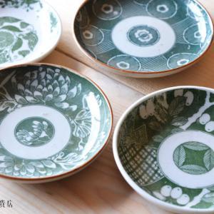 4/16うつわ販売:貴重な緑のお皿