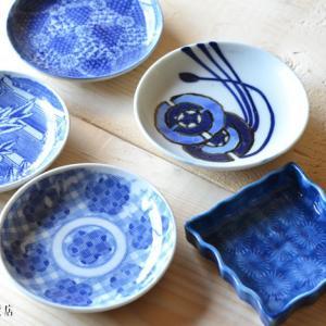 4/16うつわ販売:アンティークの青いお皿