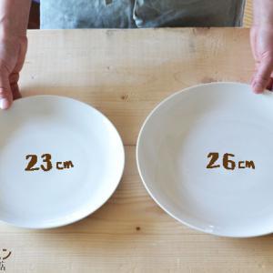 ワンプレートのお皿のサイズ、どれがいい?