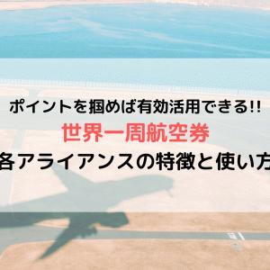世界一周航空券における 各アライアンスの特徴と実際の使い方(ルート作成/予約/利用方法)