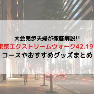「東京エクストリームウォーク42.195」とは コースや完歩に必要な持ち物まとめ