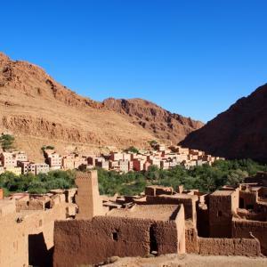 《モロッコ》世界一周 旅の日記 トドラ渓谷編