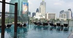 バンコクのビジター利用可能なプールがあるホテル~ミレニアム ヒルトン バンコク~