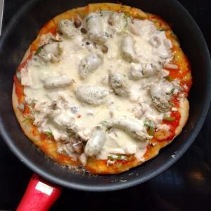 62.7kg またピザを作りました