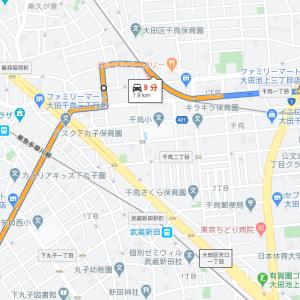 第2京浜からガス橋渡って平間、鹿島田、新川崎と言われたら