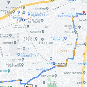 松原駅あたりから井の頭通り東行きに出るのは難しい