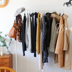この冬のワードローブ、買い足したのはアウター2枚とセーター3枚でした♪
