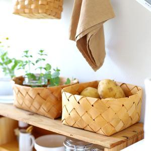 【収納】やっぱり好きなカゴ収納。キッチンで使っているカゴ