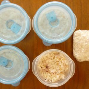 「ご飯は冷凍保存すれば賞味期限もおいしさも長持ち」
