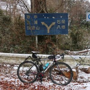 【2/11】筑波山へサイクリングしてきました。