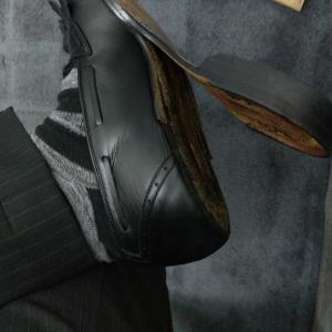 靴がえらいことに