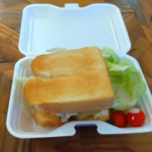 水巻でサンドイッチ食べました