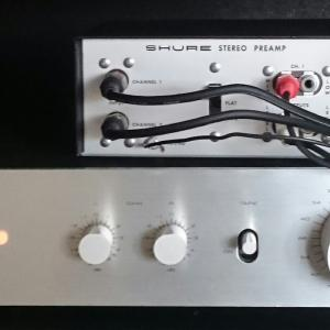 SHURE STEREO PREAMP M64について~その2~