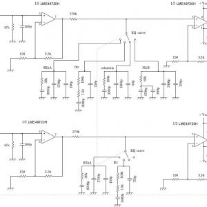 モノラルレコード用CR型イコライザアンプの設計と製作~その2:製作編~