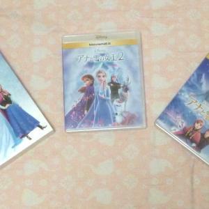 """来タ~~~~~~ッ!! """"アナと雪の女王2"""" BD & DVD"""