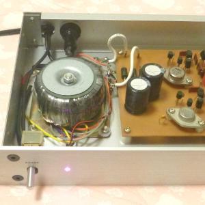 メタルキャントランジスタを使ったスーパー・ストレートDCプリアンプの製作~その3・電源編~