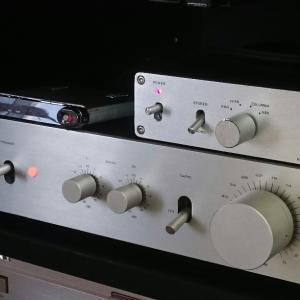 モノラルレコード用CR型イコライザーアンプ(EQアンプ)の設計と製作~その4:試聴編~