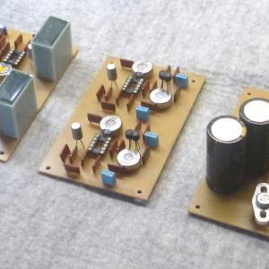 黎明DCプリアンプの製作~金田式DCプリアンプ第1号・その2:プリント基板~