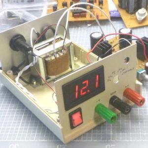 実験用定電圧電源の設計と製作~その2:トラッキングレギュレータの製作~