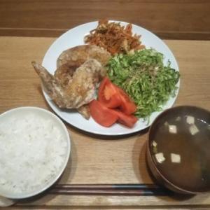 最近の晩御飯。