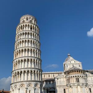 ピサの斜塔に魅せられて