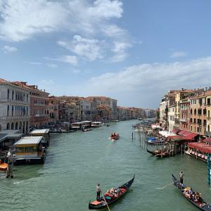 ヴェネチア前半 水の都を大満喫
