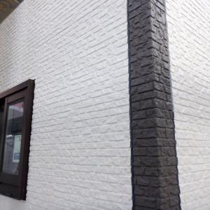 外壁のアクセント