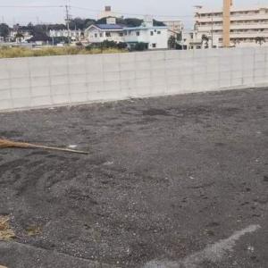 新しい駐車場完成!!