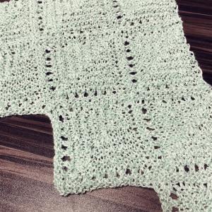 連続モチーフ編み その1