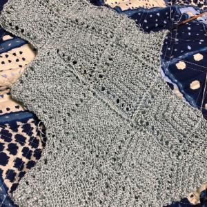連続モチーフ編み その2
