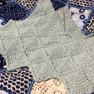 連続モチーフ編み その3