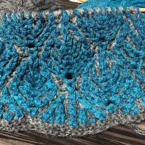 ブリオッシュ編みマフラー4 その1