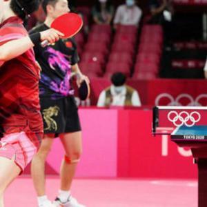 東京五輪卓球混合ダブルス金メダル