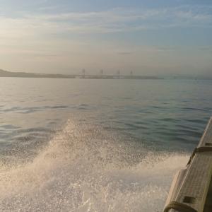 水島沖のんびり釣り紀行。
