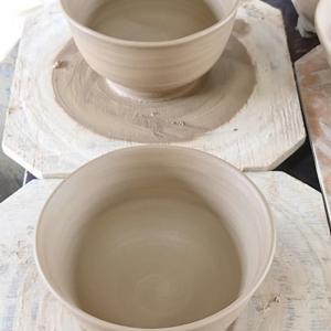 陶芸教室。
